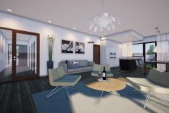 RD Revoluční - vizualizace obývacího pokoje 1_03
