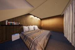 RD Revoluční - vizualizace ložnice_02