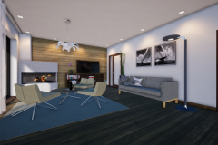 RD Revoluční - vizualizace obývacího pokoje 1_07