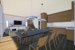 RD Revoluční - vizualizace obývacího pokoje 2_02